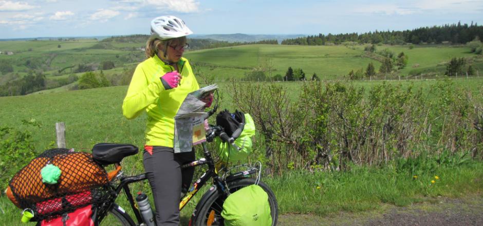 Sylvie, voyager à vélo est une école de vie