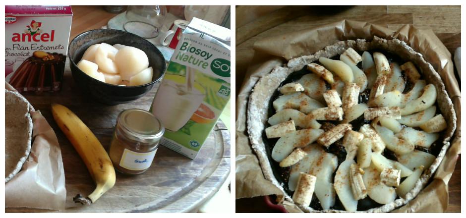 Une tarte poires-bananes sans gluten, pour se faire plaisir avec une collation fruitée tout en fraîcheur. Voici une recette facile et savoureuse.