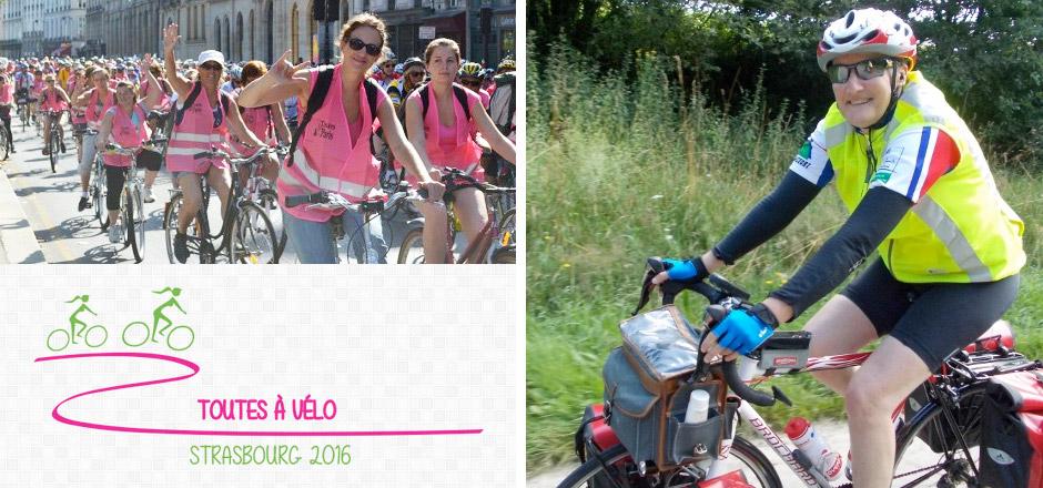 Cath, un Toutes à vélo 2016 toutes ensemble