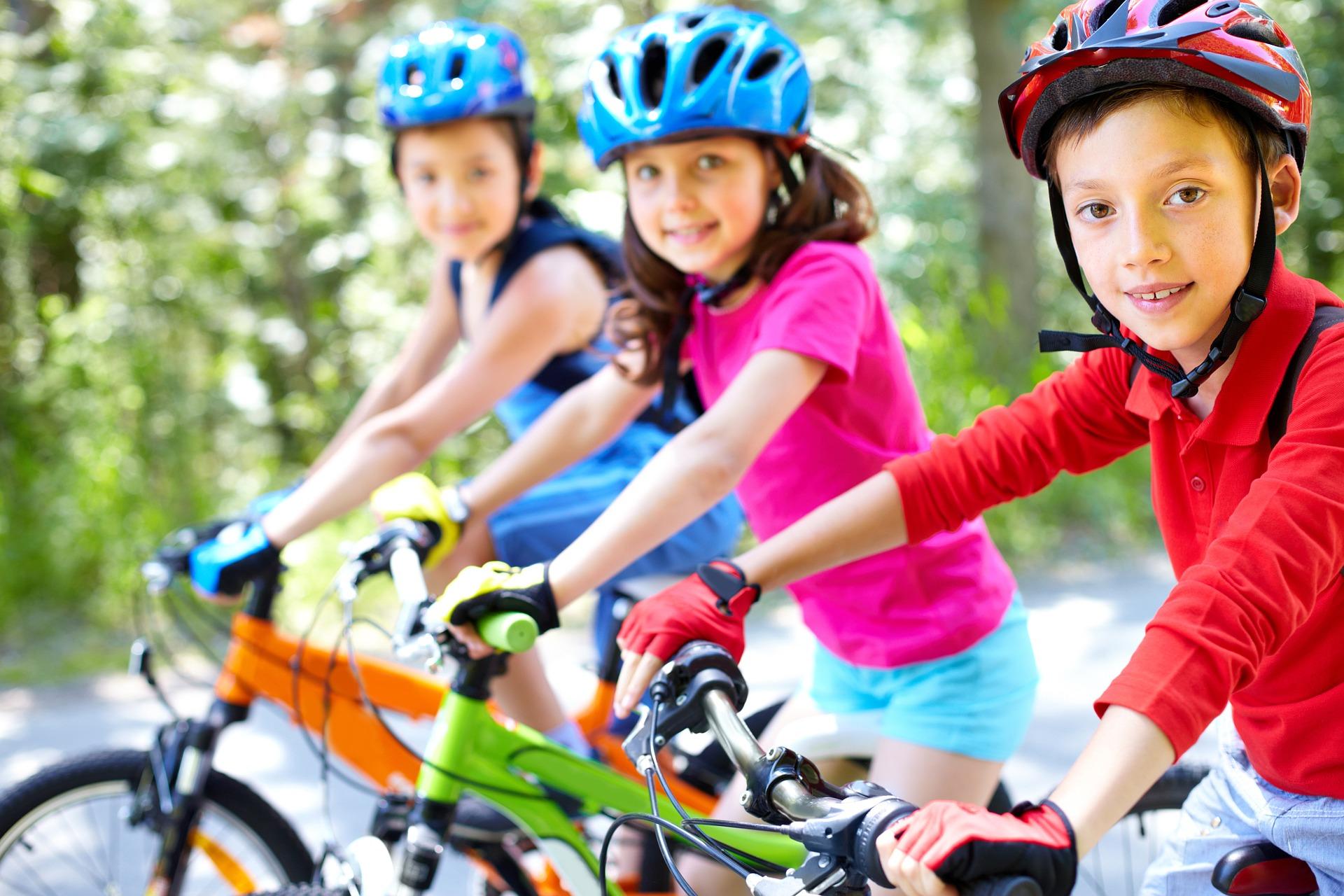 À Vél'eau, le stage vélo enfant de l'été à Bruxelles