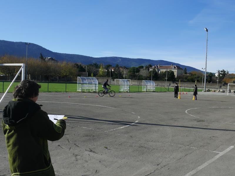 Devenir accompagnatrice vélo dans une école