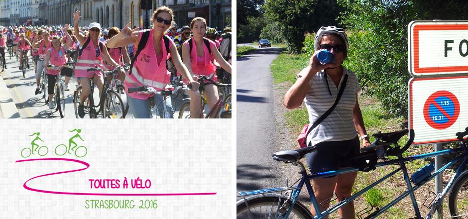 Anne, un Toutes à vélo 2016 fort en mollets