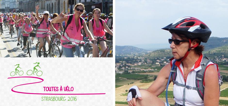 Nicole, première fois en itinérance avec le Toutes à vélo 2016