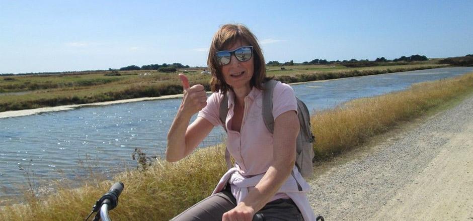 Linda, le vélo relax et en pleine forme