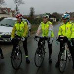 La Flèche Vélocio 2016 vécue par une équipe de 4 nanas! Épisode 1: Un début d'aventure avec une motivation sans faille malgré la météo.