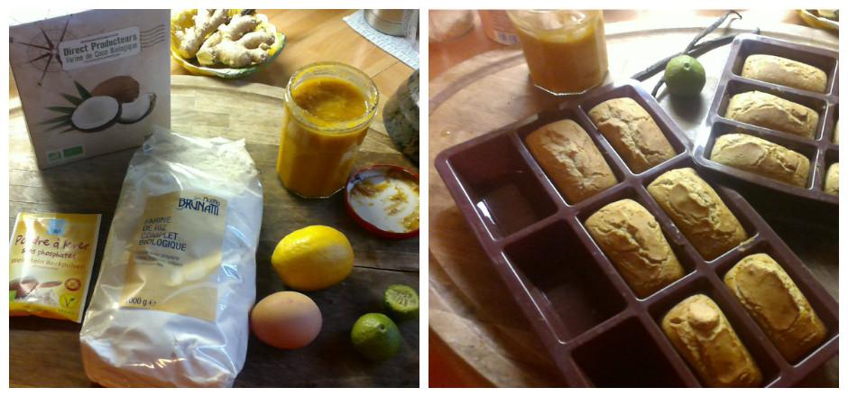 Cuisinez des mini-cakes au coco acidulés: combava et kumquat, les agrumes de la Réunion, s'invitent dans votre recette de la semaine!