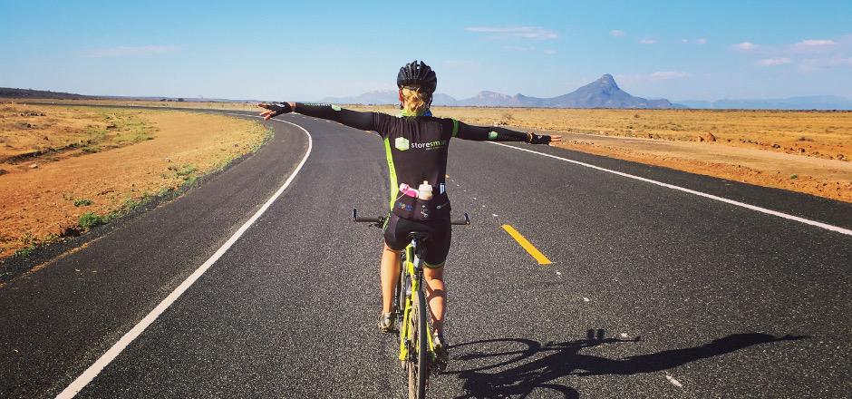 Interview de Katja, la gagnante du Tour d'Afrique à vélo 2016