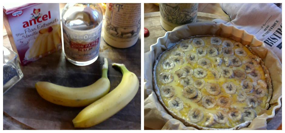 Cette semaine, savourez une tarte aux bananes à la farine de sarrasin. Agrémentée de graines de chia et d'un soupçon de rhum pour un régal sans gluten!