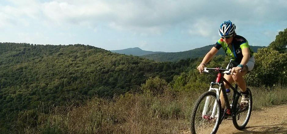 Cyndie, petite reine du cyclosport
