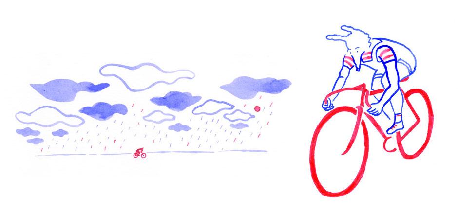 Renard à vélo, un roman graphique sur le cyclisme et la vie