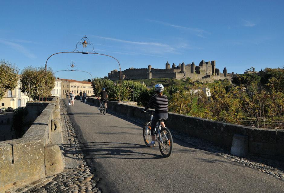 Parcourez le Canal du Midi en vélo en famille