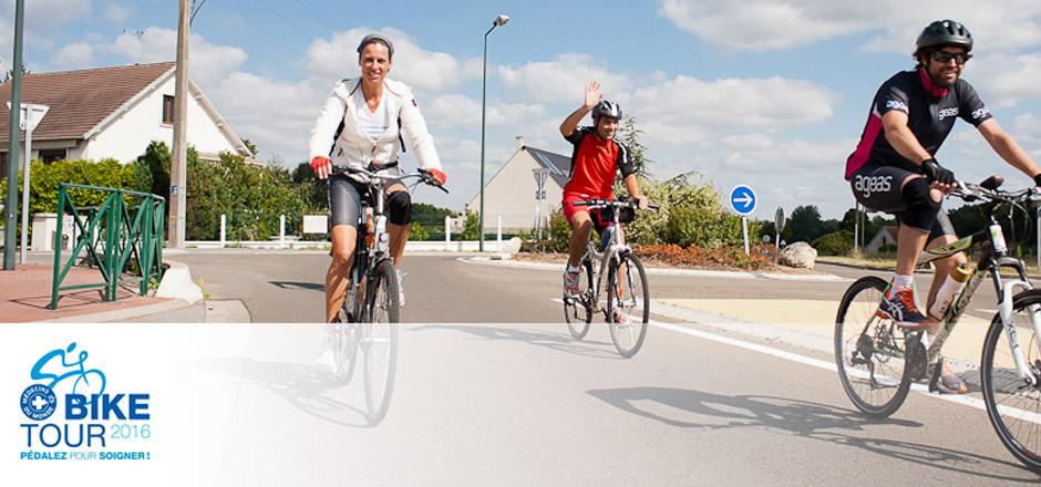Biketour 2016, pédaler pour soutenir la santé des femmes