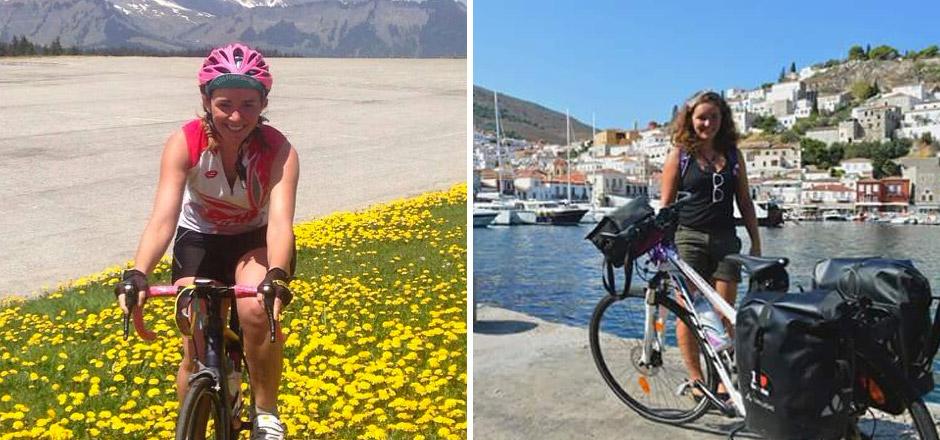 Sandrine, les défis vélo dans la peau