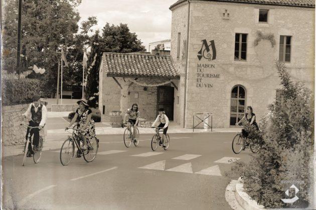Cyclistes Vélo Paradisio