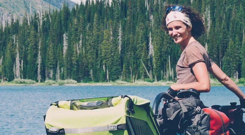 Adeline, cyclo-voyageuse intrépide