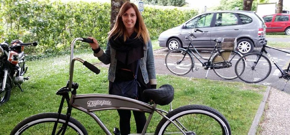 Laura, la passion du vélo au quotidien
