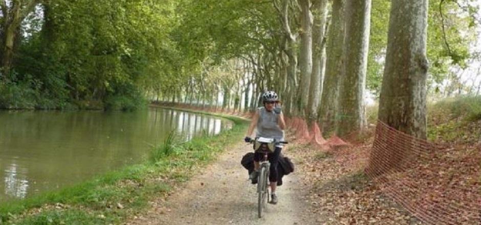 Maud et ses défis à vélo