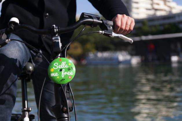 "Vélo badge ""be Ooopsss"""