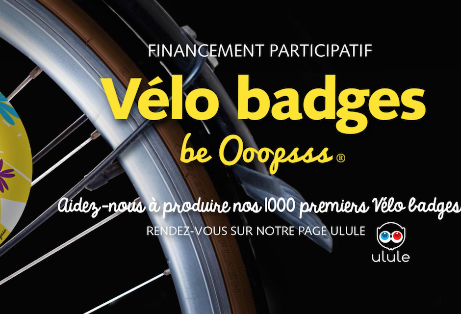 Vélo badge be 'Ooopsss'