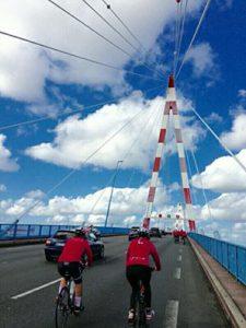 Octobre Rose à vélo à Saint-Nazaire