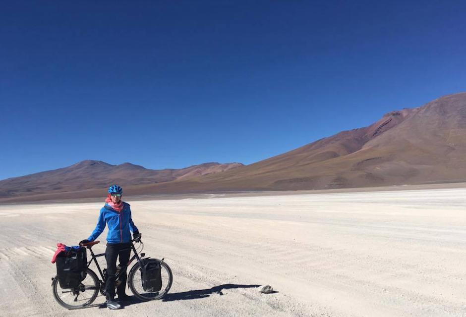 vélo en Amérique du Sud