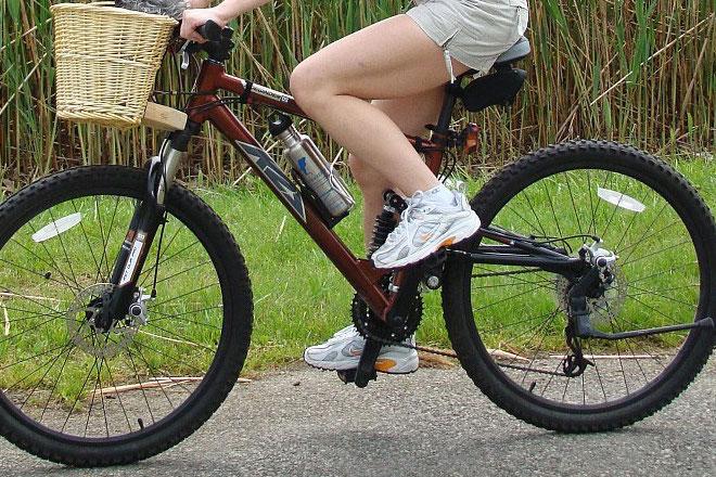 mal aux genoux à vélo