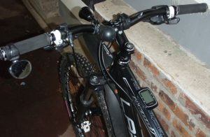 rétroviseur vélo sur guidon