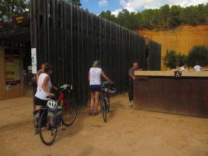 Vélo provence loisir mines de Bruoux