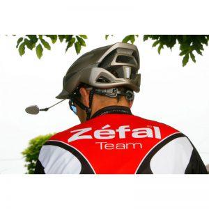 rétroviseur vélo sur casque