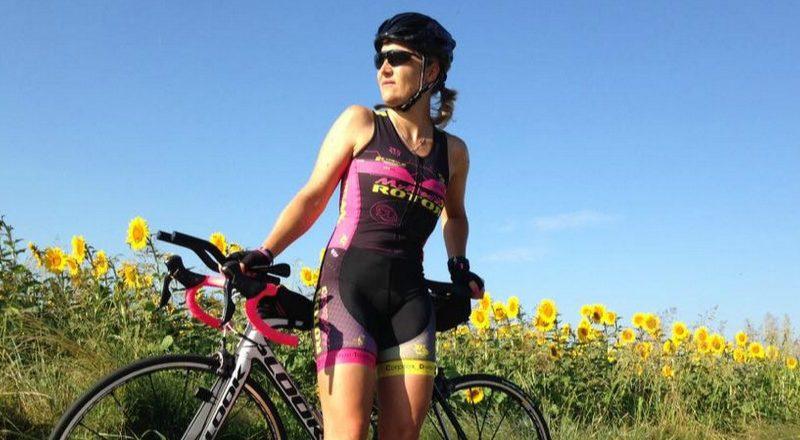 En vacances, le vélo est toujours dans la voiture! Stéphanie associe défis, voyages et vélo.