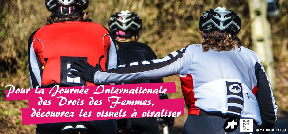 Viralisez le vélo au féminin à l'occasion du 8 mars, et en photos !