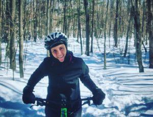 Fatbike sur la neige