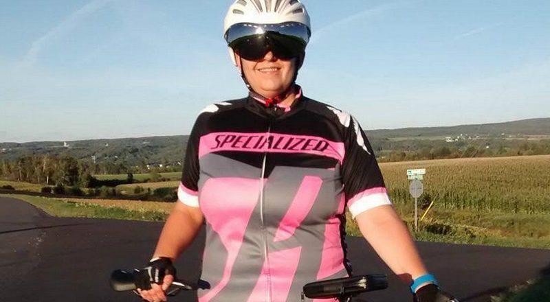 Pour moi le vélo ce sont de merveilleux souvenirs, nous raconte Cynthia Tremblay