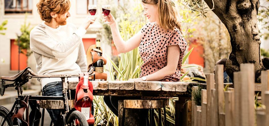 La Bouclée vélo, «le vin en balade», sera l'accessoire indispensable de votre été!