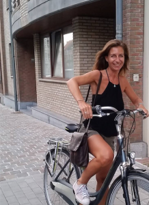 Digital nomad cycliste Katia