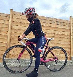 retour à la compétition cycliste