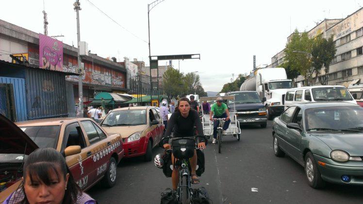 je vote vélo, mexique à vélo, Mexico city à vélo, cyclonomade.net, la cyclonomade, Laura Pedebas, La cyclonomade, elles font du vélo