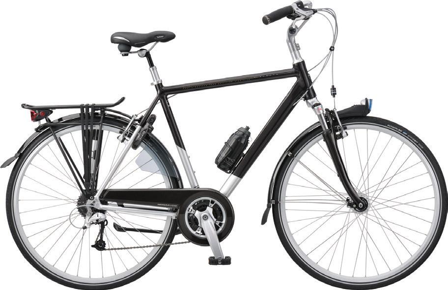 Les différents types de vélo : le vélo hybride ou city