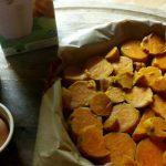 Clafoutis de patates douces au lait de soja et graines de chia sans gluten