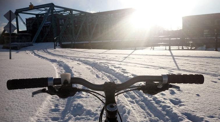 je vote vélo, vélo d'hiver, montréal, cyclonomade.net, la cyclonomade. laura Pedebas, elles font du vélo