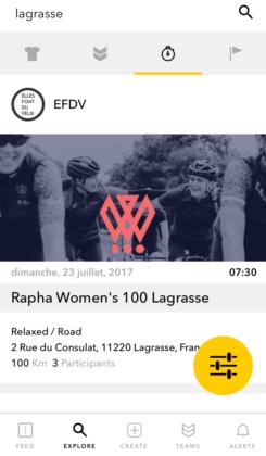 Lagrasse pour la womens 100