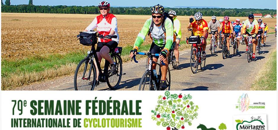 Semaine Federale de cyclotourisme à Mortagne