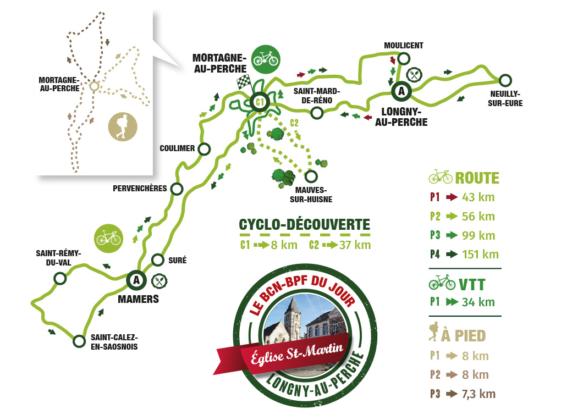 Semaine Fédérale de cyclotourisme à Mortagne