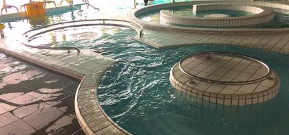 L'eau froide pour récupérer d'une course difficile