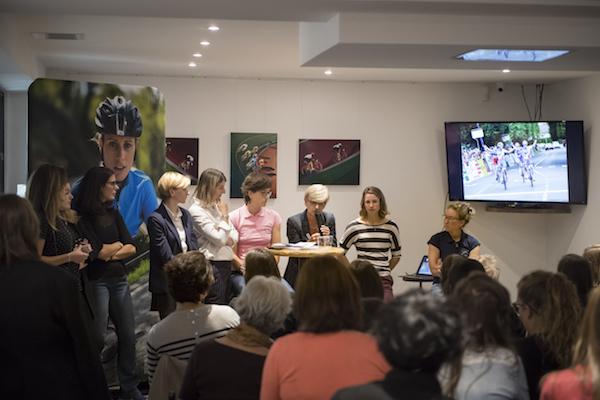 événement cyclisme au féminin