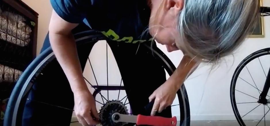 monter une cassette vélo