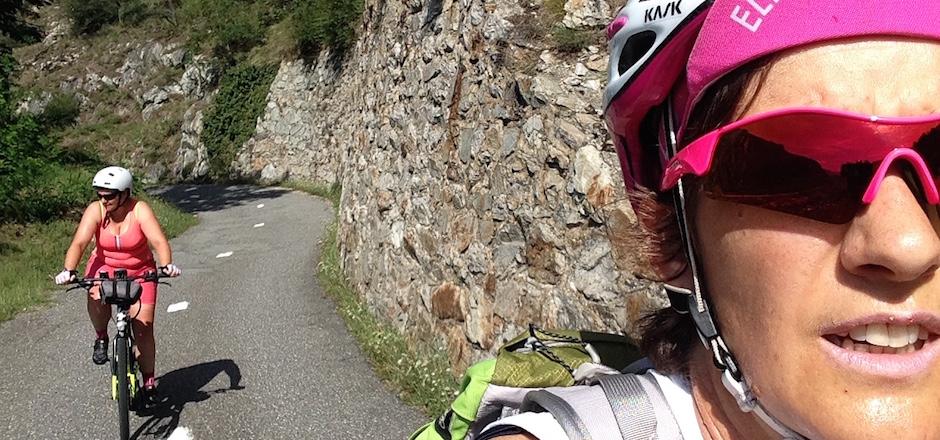 Lacets Montvernier en Maurienne