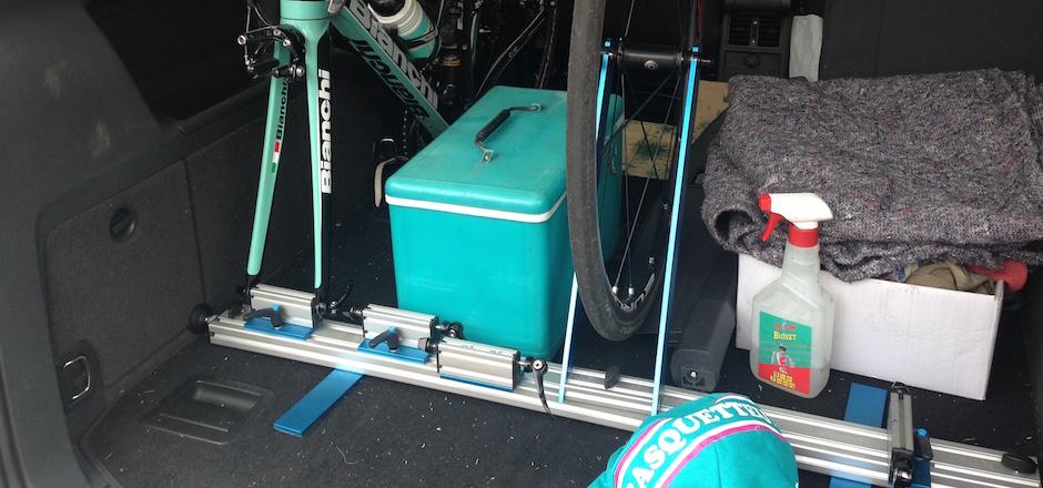 Transporter son vélo