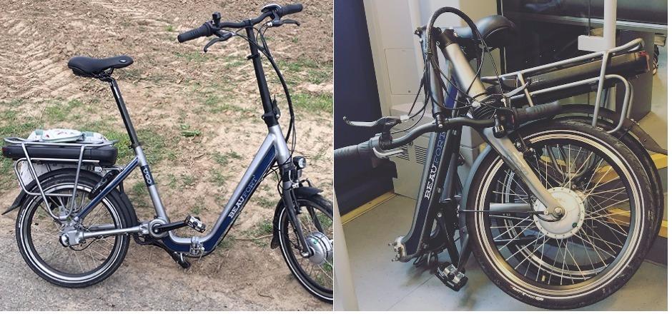 Vélo électrique pliant Beaufort