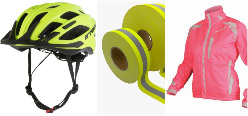 visibilité passive à vélo